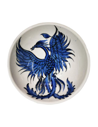 Anatoli Tabak Anka Kuşu Mavi/Beyaz 8680571853636