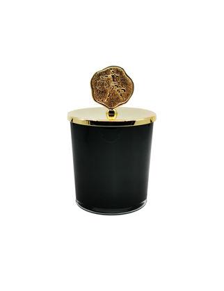 Anatoli Terazi Burcu Kokulu Mum Altın Kaplama Siyah Emaye Cam 8680571846928