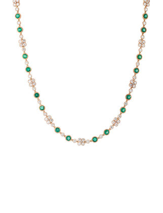 Atelye79 Emerald Hawai Kolye AN18EM006