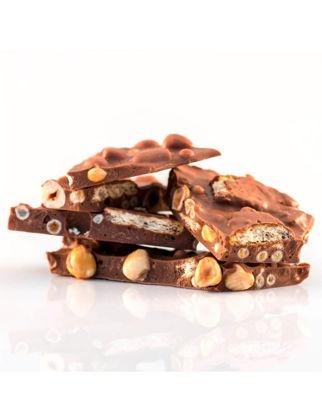 Butterfly Fındıklı Bisküvili Çıtır Toplu %33 Sütlü Kırma Çikolata 100 gr JWXY5689