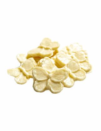 Butterfly Hindistancevizli Beyaz Kelebek Çikolata 100 gr ABCDPTZ3