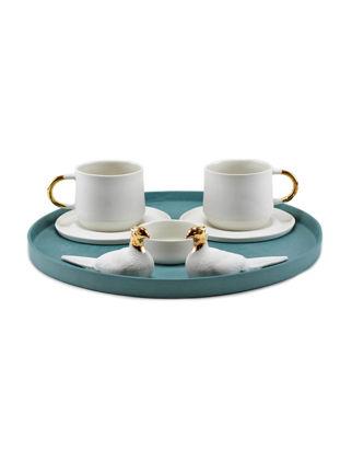 Magie Design Zümrüd-ü Anka Türk Kahvesi&Espresso Seti 35010