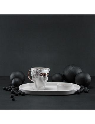 Magie Design Beyaz Heykel Türk Kahvesi&Espresso Seti 35013