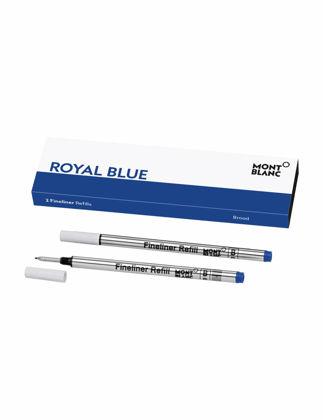 Montblanc 2 Fineliner Refill Broad Royal Blue 128249