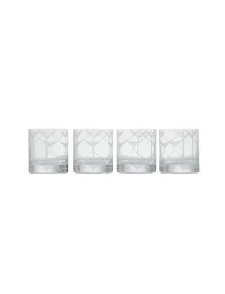 Accract Etnik Desenli 4'lü İçecek Bardağı TH-0808