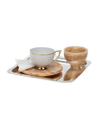Anatoli Cevher Kahve Keyifliği Takımı Gümüş Kaplama (5 Parça) 8680571824865