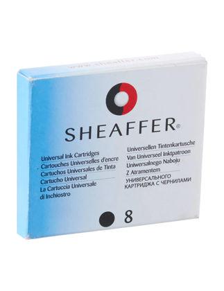 Sheaffer 93100 Vfm Kartuş Siyah 8'li Paket THS9310000000A