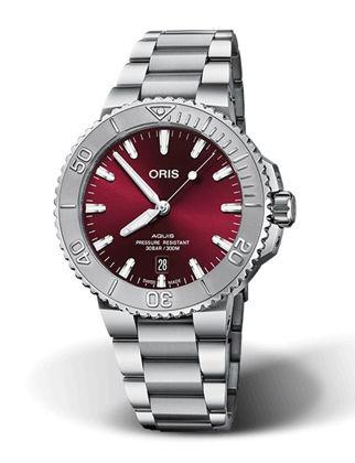 Oris Aquis Date Relief 01 733 7766 4158-07 8 22 05PEB