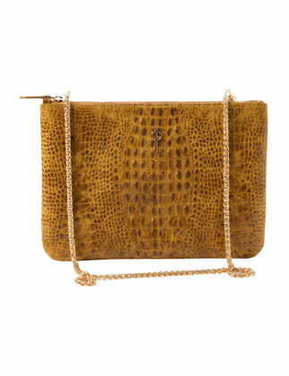 Otrera Clutch Yellow Çanta CLTCH-112