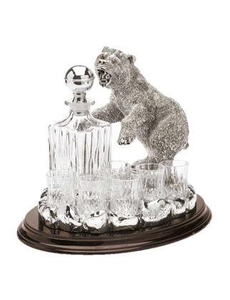 Chinelli SRL Bear Şişeli 6'lı Bardak Seti 2058800