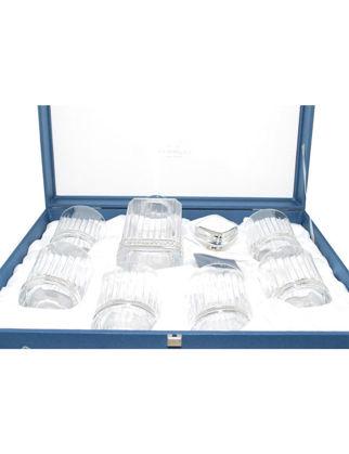 Chinelli SRL Timeless Şişeli 6'lı Bardak Seti - Silver 2208700