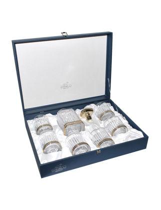 Chinelli SRL Timeless Şişeli 6'lı Bardak Seti - Gold 6208700