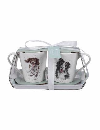 Royal Worcester Wrendale Designs Dogs Kupa&Tepsi Set RW.X0011658929