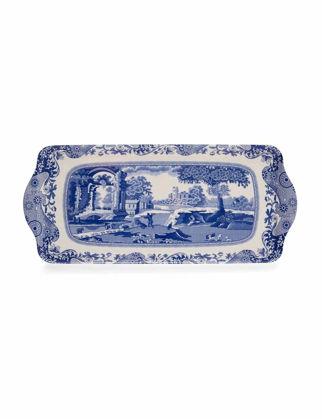 Spode Blue Italian Sandviç Tepsi RW.X0019418337