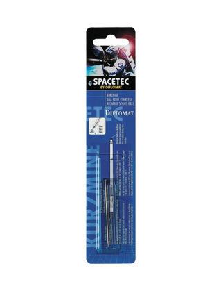 Diplomat Spacetec Kısa Gas Refil (Blisterli) D10380152