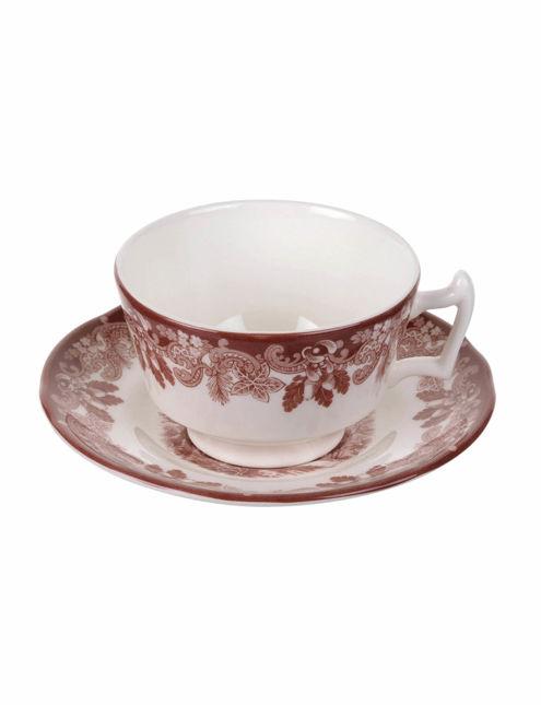Spode Winter's Scene Çay Bardağı ve Tabağı RW.WSC.1138