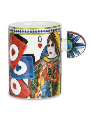 Baci Milano Regina Porselen Kupa 10 cm MUG.REG01