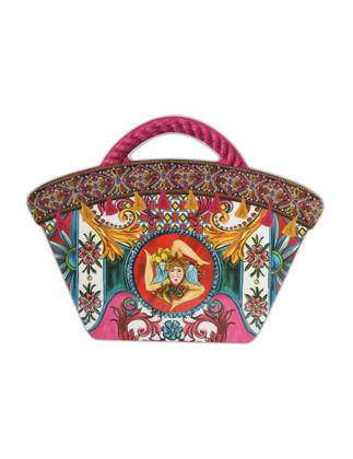 Baci Milano Bag Sicily Kesme Tahtası 22,5x18 cm Küçük - Fuşya JCOFF2.SIC04