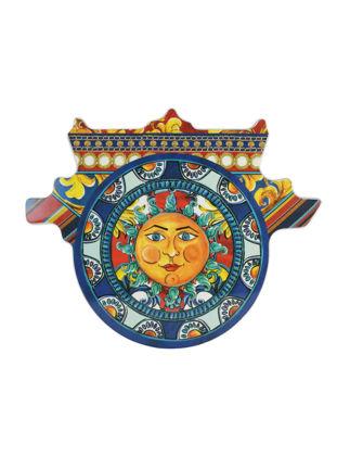 Baci Milano Cart Güneş Kesme Tahtası Küçük 22,8x17,4 cm- Mavi JCART2.SIC03