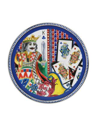 Baci Milano Regina Kral Bardak Altlığı 9,5 cm COA.REG02