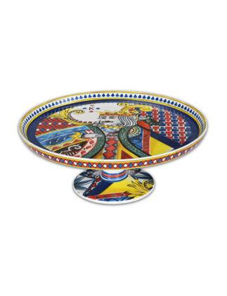 Baci Milano Regina Porselen Kek Standı 25 cm CAKE1.REG01