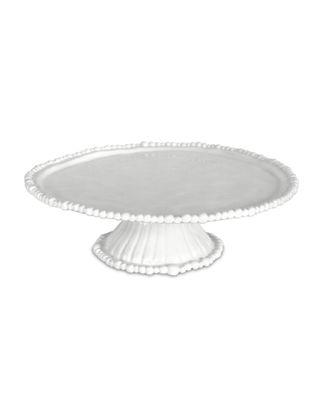 Baci Milano Joke Beyaz Ayaklı Kek Standı 35 cm CAK.COL01