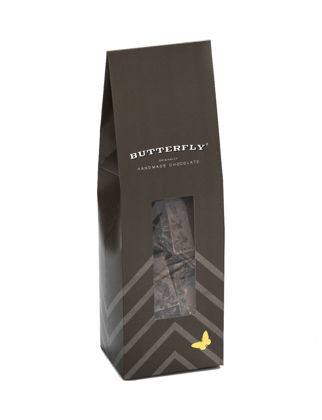 Butterfly Çıtır Kare Çekirdek Kahve Taneli %33 Sütlü Çikolata 200 gr AEMUV458