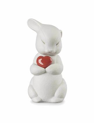 Lladró Puffy Generous Rabbit Biblo 01009440