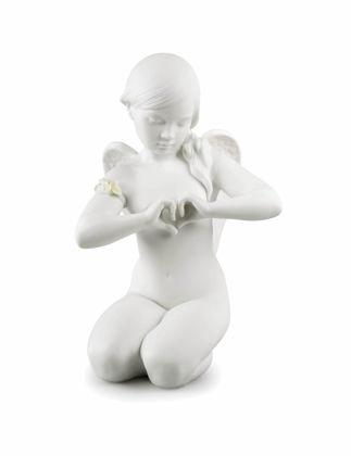 Lladró Heavenly Heart Angel Biblo 01009444