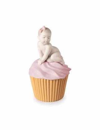 Lladró My Sweet Cupcake Girl Biblo 01009445