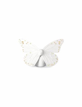 Lladró Butterfly Biblo Parlak Altın&Beyaz 01009451