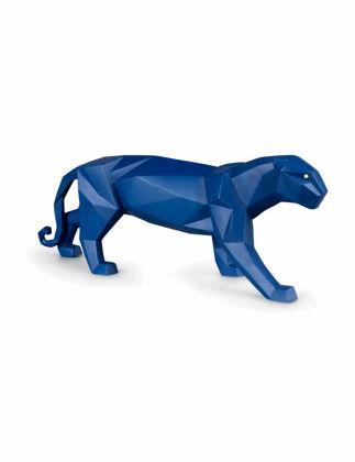Lladró Panther Biblo Mat Mavi 01009456