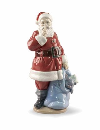 Lladró Santa Is Here Biblo 01009485