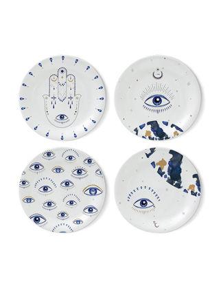 Fern&Co 4'lü Spirit Eye Collection Tatlı Tabağı Seti FRNEYS002