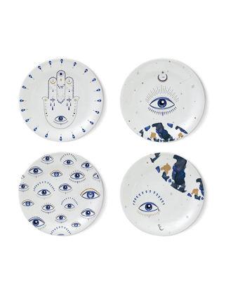Fern&Co 4'lü Spirit Eye Collection Küçük Tabak Seti FRNEYS001