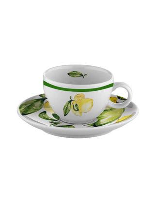 Fern&Co Citrus Porcelain Collection 2'li Çay Fincan Seti FRNLMN004-1