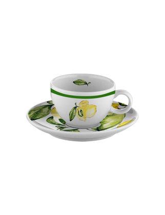 Fern&Co Citrus Porcelain Collection 2'li Türk Kahvesi Fincanı Seti FRNLMN005-1