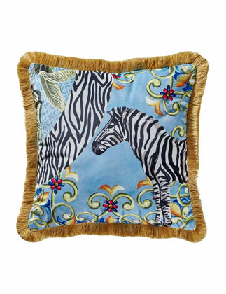 Chiara Alessi Il Giardino Yastık-Zebra 45x45 cm CATILK4545PLZE