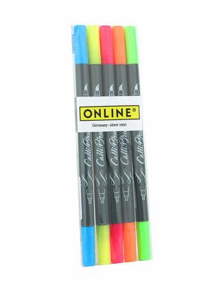 Online Calli Brush Neon 5'li Set 19078
