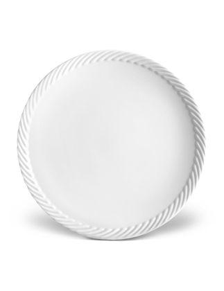 L'objet Corde Beyaz Yemek Tabağı  LOBCR110
