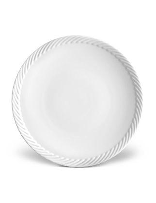L'objet Corde Beyaz Tatlı Tabağı LOBCR120