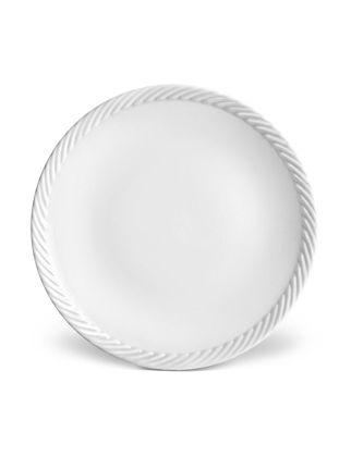 L'objet Corde Beyaz Ekmek Tabağı  LOBCR140