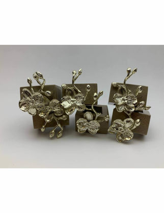 Mi'Marb Design Tropical Collection Mermer Peçetelik (6'lı Set) MIM-MM-06