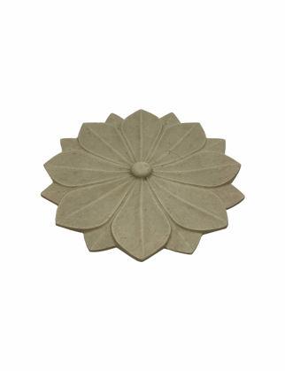 Mi'Marb Design Retro Collection Çiçek Desenli Mermer Dekor MIM-MM-04