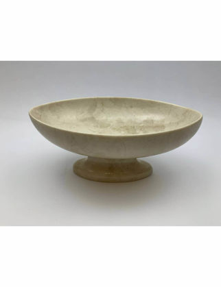 Mi'Marb Design Retro Collection Oval Mermer Meyve Tabağı MIM-MM-03