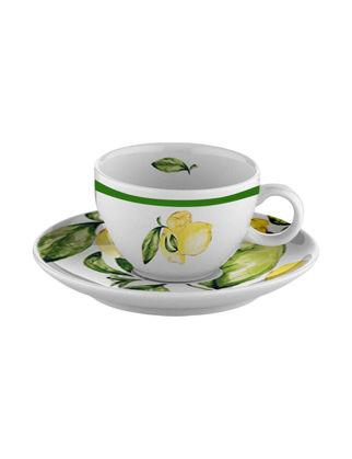 Fern&Co Citrus Porcelain Collection Çay Fincanı FRNLMN004