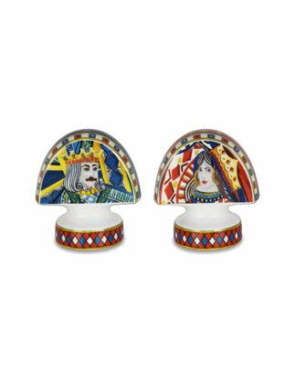 Baci Milano Regina Porselen Tuzluk&Biberlik S&P.REG01