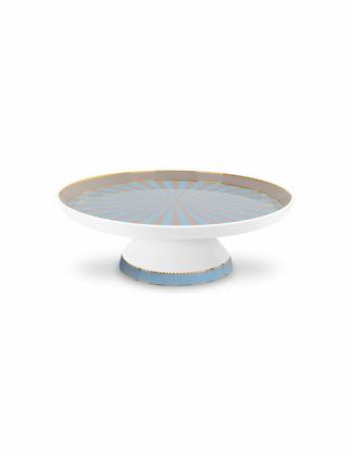 Pip Studio Love Bird Mavi Haki Mini Kek Standı 24 cm 51018115
