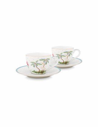 Pip Studio Jolie İkili Beyaz Kahve Fincanı Seti 120 ml 51004118