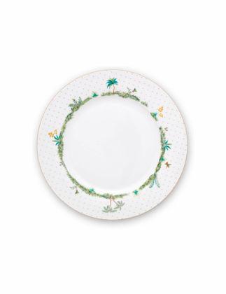 Pip Studio Jolie Beyaz Yemek Tabağı 26,5 cm 51001252
